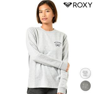 【ROXY】ロキシーのレディース長袖Tシャツ。 カラーごとに刺繍のデザインを変えたロングスリーブTシ...