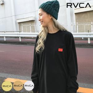 RVCA ルーカ BACK BALANCE LT バックバランスロングスリーブTシャツ BB043-054 レディース 長袖 Tシャツ II1 B11 MM|ムラサキスポーツ