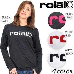 SALE セール 30%OFF 【数量限定】 レディース 長袖 Tシャツ roial ロイアル GTS358 EE1 A9|murasaki