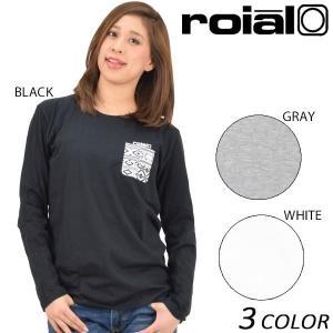 SALE セール 30%OFF 【数量限定】 レディース 長袖 Tシャツ roial ロイアル GTS359 EE1 L29|murasaki