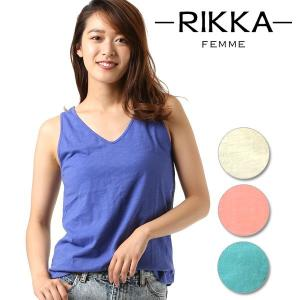 SALE セール レディース タンクトップ RIKKA FEMME リッカファム R18S2301 FF1 F8|murasaki