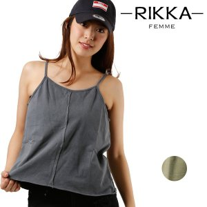 SALE セール レディース トップス キャミソール RIKKA FEMME リッカファム R18S2304 春 夏 FF1 E28|murasaki