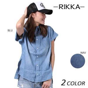 SALE セール レディース 半袖 シャツ RIKKA リッカ 170020 EE1 F23|murasaki