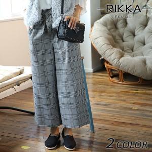 SALE セール レディース ロングパンツ RIKKA FEMME リッカファム 171039 EE3J28|murasaki