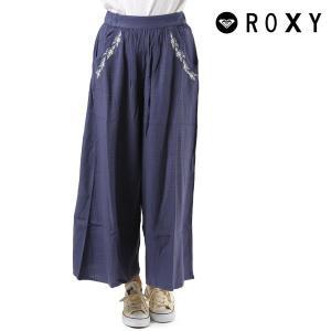 レディース ロング パンツ ガウチョ ROXY ロキシー GRJWK03022 マキシ丈 マキシ FX2 E18 murasaki