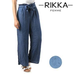 レディース ロングパンツ RIKKA FEMME リッカファム R18S3103 FF1 E25 MM murasaki