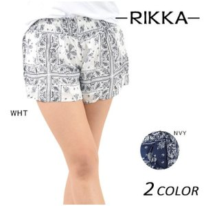 SALE セール 50%OFF レディース ショートパンツ RIKKA リッカ 170037 EE1 E27|murasaki