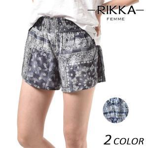 SALE セール レディース ショートパンツ RIKKA FEMME リッカファム R18S3301 FF1 D6|murasaki