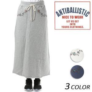 レディース ロング スカート ANTIBALLISTIC アンティバルリスティック 181AN216002 FF1 A11 MM murasaki