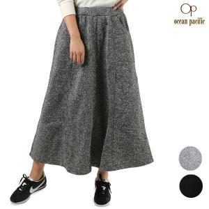 SALE セール レディース スカート OP オーピー 558701 FX3 L9 murasaki