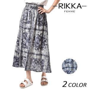 レディース スカート RIKKA FEMME リッカファム R18S3502 FF1 D6|murasaki
