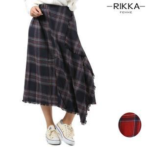 レディース スカート RIKKA FEMME リッカファム R18W1121 FF3 J11|murasaki