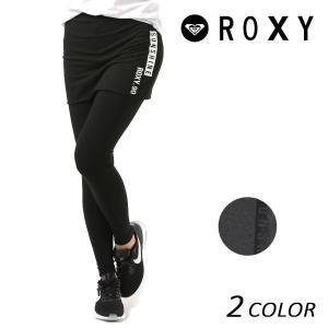 レディース スカート付き レギンス ROXY ロキシー RPT181135 FX1 B28 murasaki