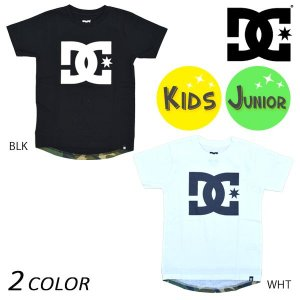 キッズ 半袖 Tシャツ DC ディーシー 7426J702 EX3 G21 murasaki