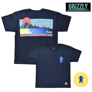 SALE セール キッズ 半袖 Tシャツ GRIZZLY グリズリー VIEWS FROM THE BU YOUTH S/S TEE VIGR181Y11 FX1 C27|murasaki