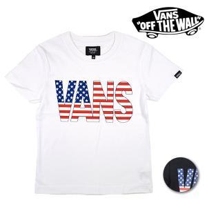 SALE セール キッズ 半袖 Tシャツ VANS バンズ VA18SS-KT52MS (120cm〜160cm) ムラサキスポーツ限定 FF1 E19|murasaki