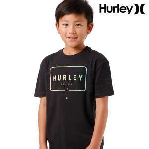 SALE セール キッズ トップス 半袖 Tシャツ Hurley ハーレー ABAA5312 130cm〜150cm 男の子 女の子 ボーイズ ガールズ 子供用 子供 FF D27|murasaki