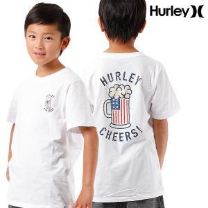 SALE セール キッズ トップス 半袖 Tシャツ Hurley ハーレー ABAA5336 130cm〜150cm 男の子 女の子 ボーイズ ガールズ 子供用 子供 FF D27|murasaki
