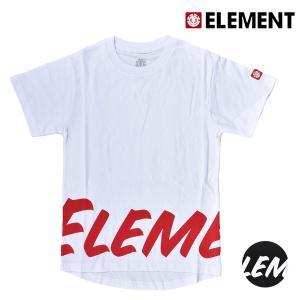 キッズ トップス 半袖 Tシャツ ELEMENT エレメント AI025-320 (130cm〜160cm) 男の子 女の子 カジュアル 春 夏 FX3 G5 murasaki