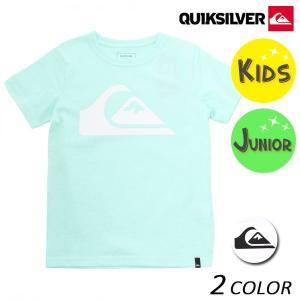 キッズ 半袖 Tシャツ QUIKSILVER クイックシルバー KST181115 (100cm〜160cm) FX1 B13 MM|murasaki