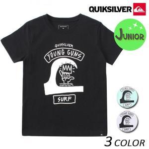 キッズ 半袖 Tシャツ QUIKSILVER クイックシルバー KST181111 (140cm〜160cm) FX1 B13 MM|murasaki