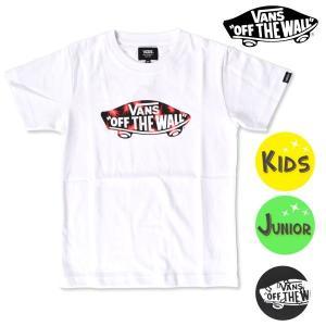 SALE セール キッズ 半袖 Tシャツ VANS バンズ VA18HS-KT04 (100cm〜160cm) FF2 F4|murasaki