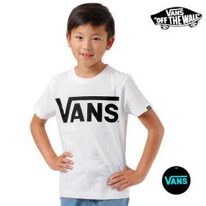 SALE セール キッズ 半袖 Tシャツ VANS バンズ VANS-KT01 (100cm〜160cm) FF1 D6|murasaki
