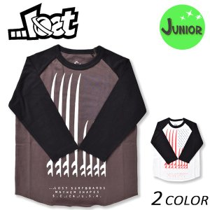 SALE セール キッズ 長袖 Tシャツ LOST ロスト L17FW-GK (130cm〜160cm) EE3 J24|murasaki