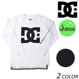 キッズ 長袖 Tシャツ DC ディーシー 7125J803 (130cm〜160cm) FX1 A20 MM|murasaki