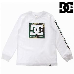 キッズ 長袖 Tシャツ DC ディーシー 7425J891 ジュニア (130cm〜160cm) FX3 H21 murasaki