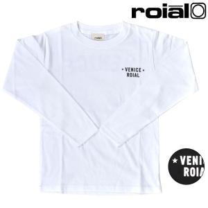 92c53eda075d2 SALE セール キッズ ジュニア 長袖 Tシャツ roial ロイアル R803KLTD01 ムラサキスポーツ限定 FF3 I22