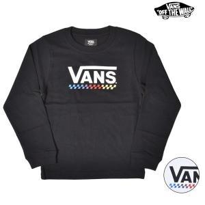 SALE セール キッズ ジュニア 長袖 Tシャツ VANS バンズ VA19FW-KT02 120...