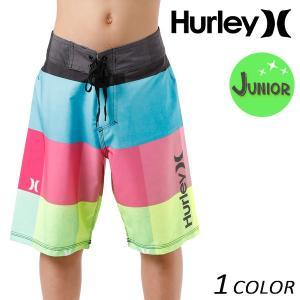 キッズ 水着 海水パンツ Hurley ハーレー BBS0006310 130cm〜160cm 男の子 ボーイズ 子ども 子供用 子供 FF D27 MM murasaki