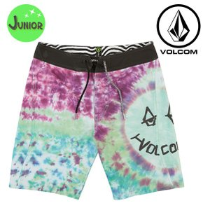 キッズ 水着 海水パンツ VOLCOM ボルコム Chill Out Boardshorty C0811801 FX1 E15 MM|murasaki