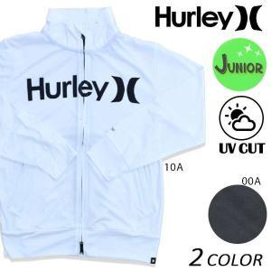 キッズ ラッシュガード Hurley ハーレー BKNZLY40 (135cm〜165cm) EE2 G3|murasaki