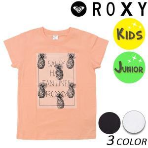 キッズ 半袖 Tシャツ ROXY ロキシー MINI SALTY HAIR TANL TST181113 (100cm〜150cm) FX1 B13 murasaki