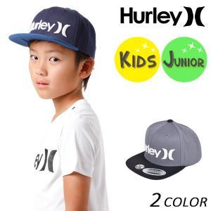 キッズ キャップ 帽子 Hurley ハーレー BHA0005800 男の子 女の子 ボーイズ ガールズ FF D24 MM|murasaki
