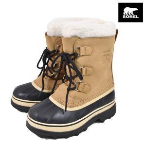ジュニア ウィンターブーツ SOREL ソレル LY1000 YOUTH CARIBOU ユース カリブー ウォータープルーフ 防寒 ブーツ FF3 J18|murasaki