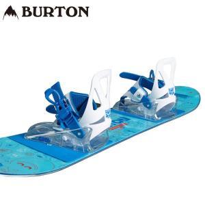 【BURTON】 バートン スノーボード キッズ専用のボードとバインディングがセットとなったパック。...