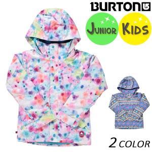 送料無料 スノーボード ウェア ジャケット BURTON バートン GIRLS ELODIE JK 13045103 ガールズエロディ 17-18モデル キッズ EE K27|murasaki