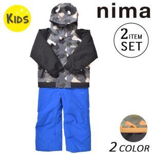 スノーボード ウェア セットアップ nima ニーマ JR-7056 (100cm〜120cm) 17-18モデル キッズ EX K21|murasaki