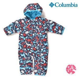 スノーボード ウェア ワンピース Columbia コロンビア SN0219 Snuggly Bunny Bunting 18-19モデル キッズ ベビー 70cm〜80cm FF K27 MM|murasaki