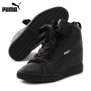 【PUMA】プーマのレディースシューズ。 PUMAの定番コートスタイルPUMA BASKETを イン...