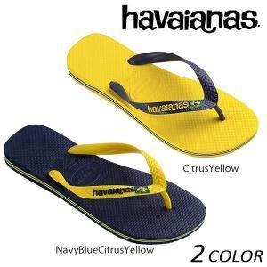 SALE セール 20%OFF メンズ ビーチサンダル havaianas ハワイアナス BRASIL LOGO ブラジル ロゴ 4110850 EX1 E31|murasaki