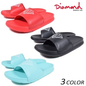 SALE セール サンダル Diamond Supply Co. ダイヤモンド サプライ FARIFAX SLIDES Z15-F127 FF1 C23|murasaki