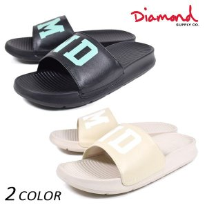SALE セール サンダル Diamond Supply Co. ダイヤモンド サプライ FARIFAX SLIDES B16MFB99 FF1 C23|murasaki