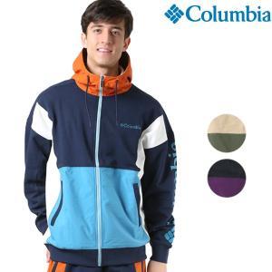 SALE セール  メンズ ジップアップ パーカー Columbia コロンビア Skunk Spire Hoodie PM3384 ムラサキスポーツ限定 FF1 L27|murasaki