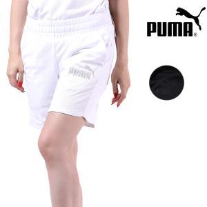 レディース ハーフパンツ PUMA プーマ 593245 ムラサキスポーツ限定 FX1 E11 murasaki