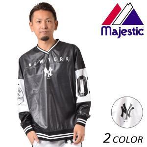 メンズ ウインドブレーカー Majestic マジェスティック MM23-NYK-8SH05 FX1 A7|murasaki