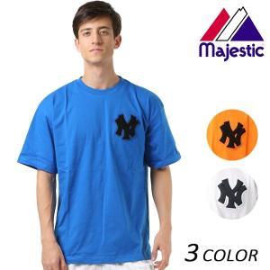 SALE セール メンズ 半袖 Tシャツ Majestic マジェスティック01-NYK-8S102MS FX1 D6 murasaki